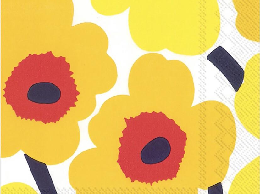 BI Marimekko Dark Yellow Napkin