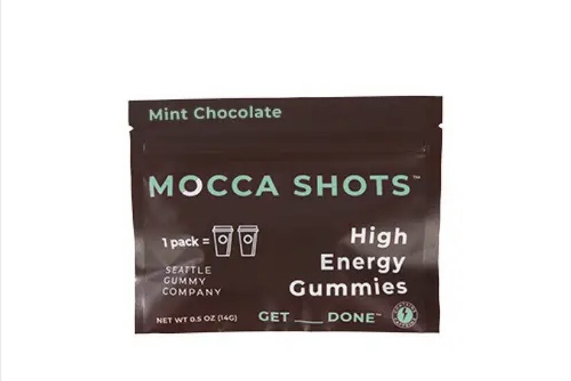 MS Mint Chocolate High Energy Gummy