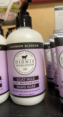 Dionis Lavender Blossom Goat Milk Deep Moisturizing Hand Soap