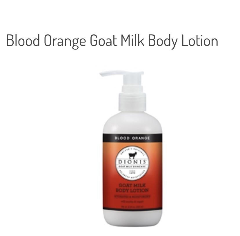 Dionis Hand &body Cream Blood Orange