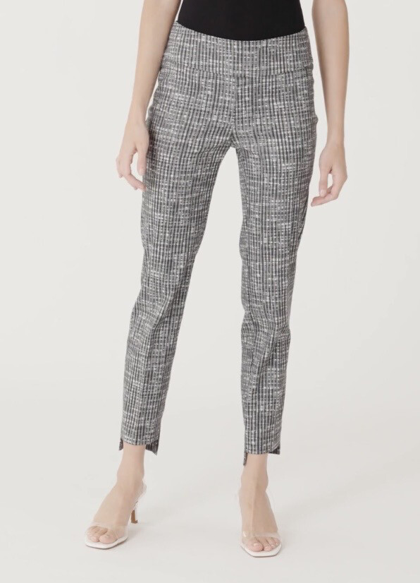 Up Grey Weave Pant 4