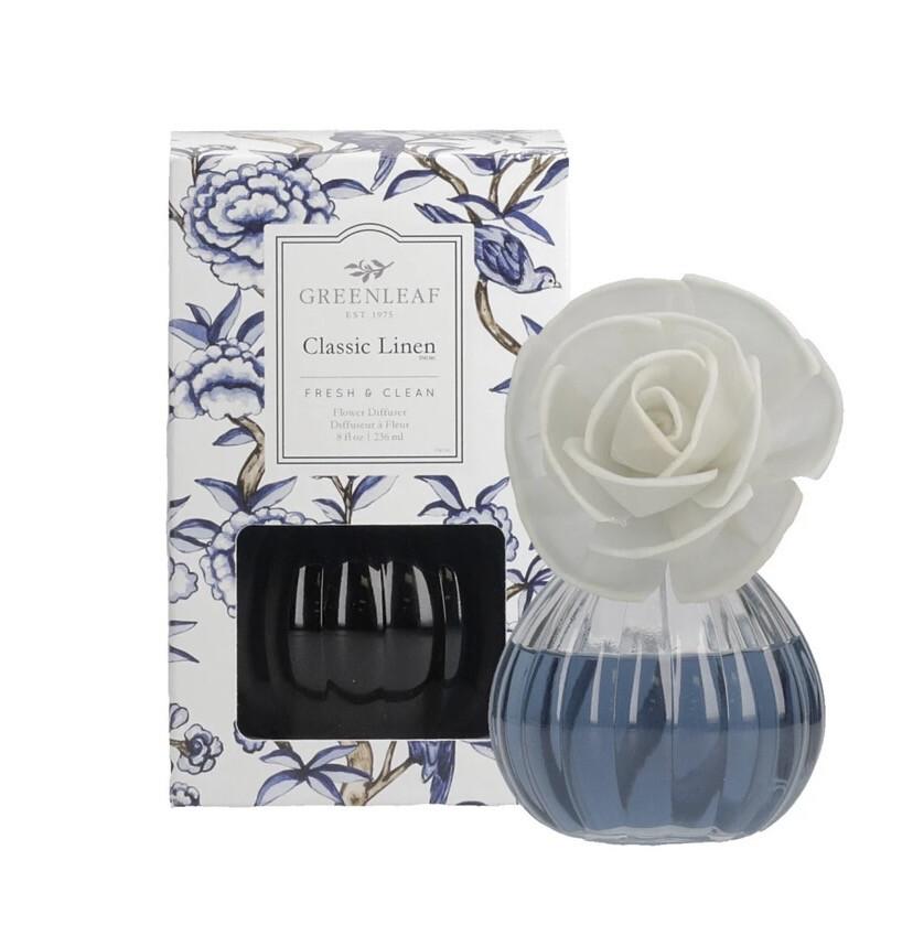 GL Classic Linen Flower Diffuser
