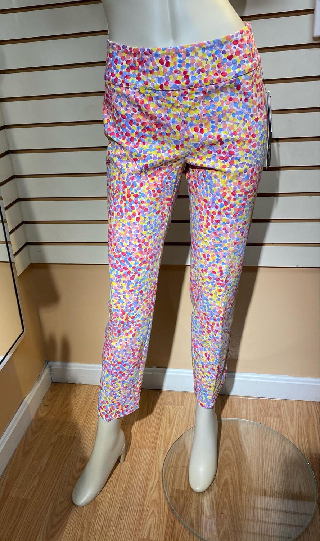 Up Petal Pant Multi Color Dots Size 14