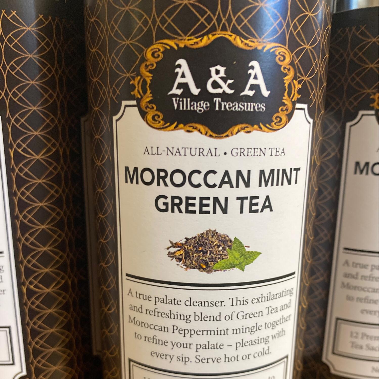 AA Signature Moroccan Mint Green Tea