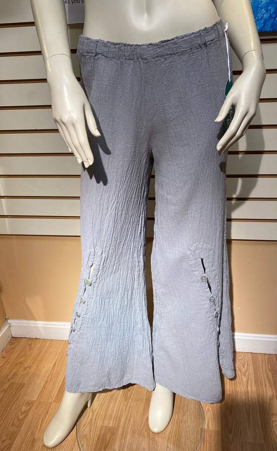 Omg Dallas Nickel Wide Button Pant 2