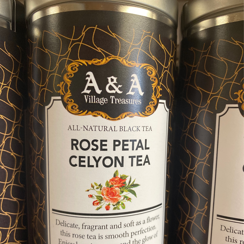 AA Signature Rose Petal Ceylon Tea