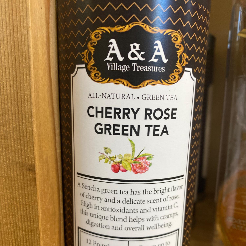 AA Signature Cherry Rose Green Tea