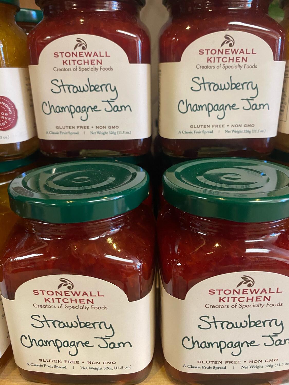 Stonewall Kitchen Strawberry Champagne Jam