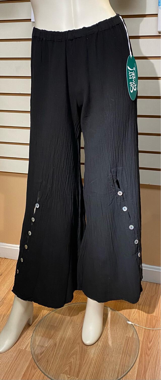 Omg Dallas Black Button Pant Size 1