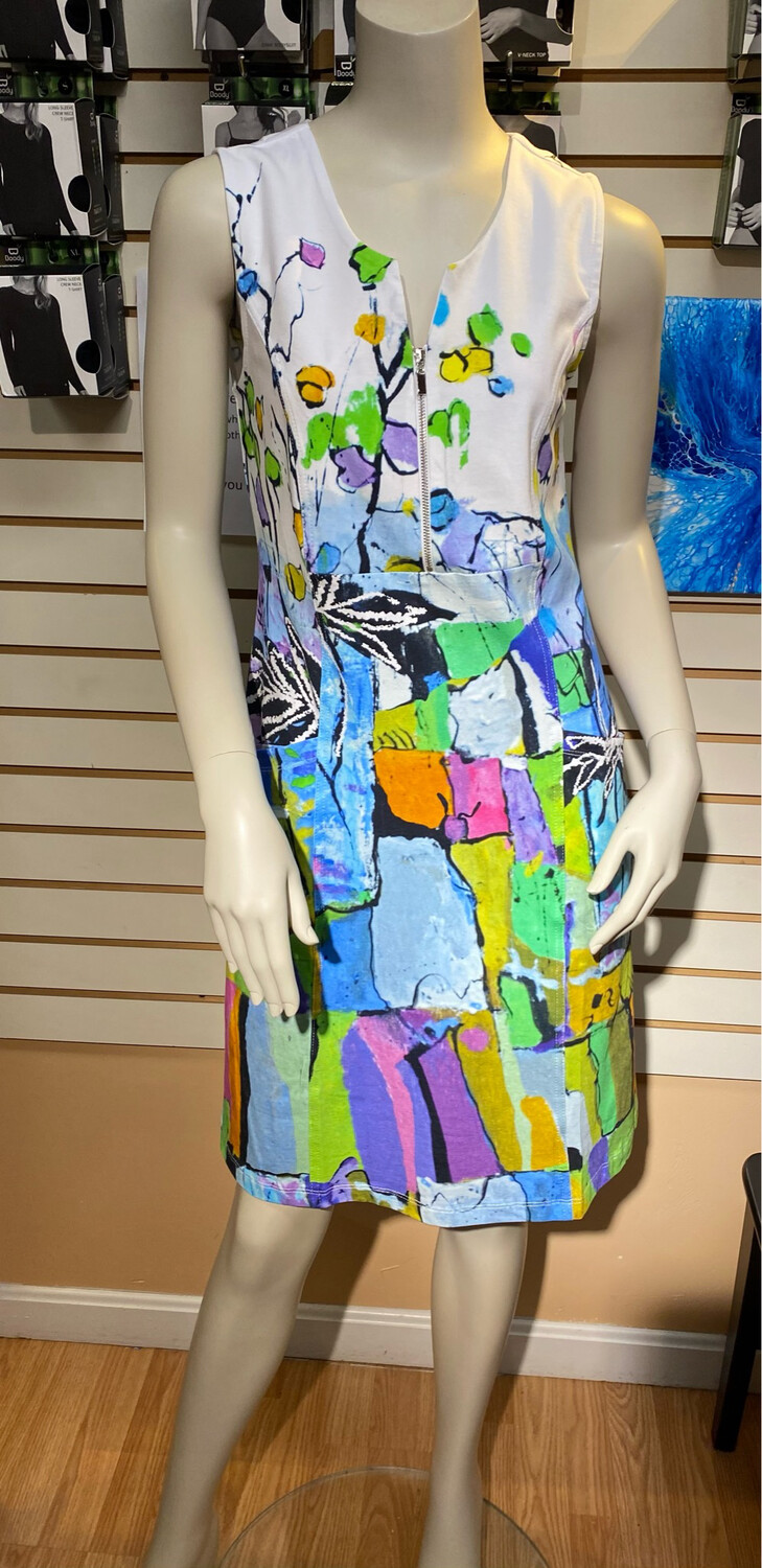 """Dolcezza Slvless Dress.     """"Still Life For A Wedding"""" X Large"""