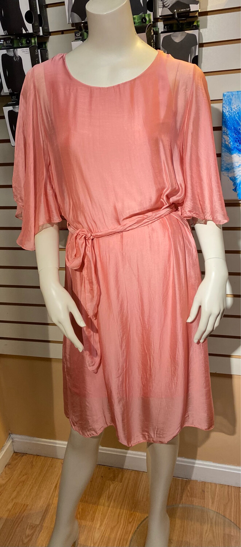M Pepe Rosa Silk Dress XS