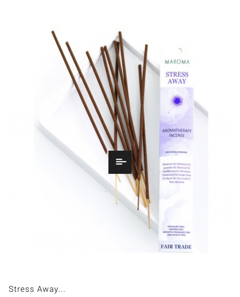 Maroma Stress Away Incense