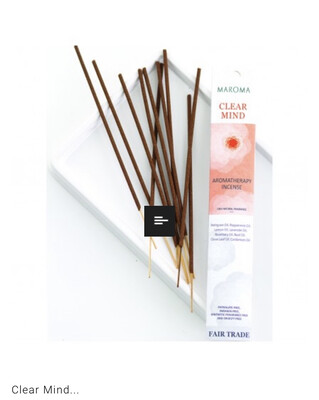 Maroma Clear Mind Incense