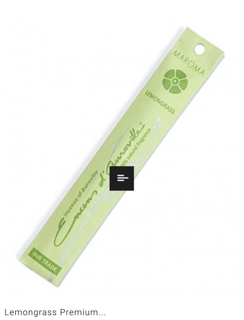 Maroma Lemongrass Incense