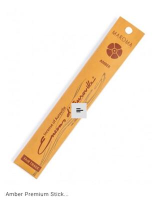 Maroma Amber Incense