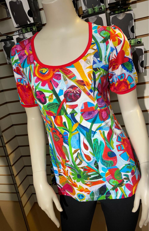 Dolcezza Knit Pullover Flower Heart S