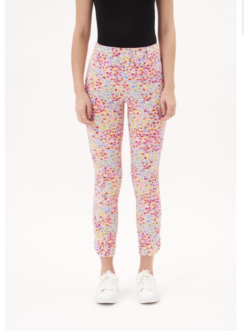 Up Petal Pant Multi Color Dots Size 12