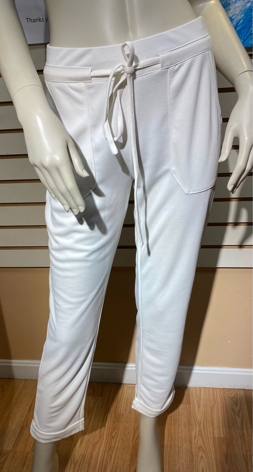 Coco Modal Pant Off White XS Matching Cardigan Available