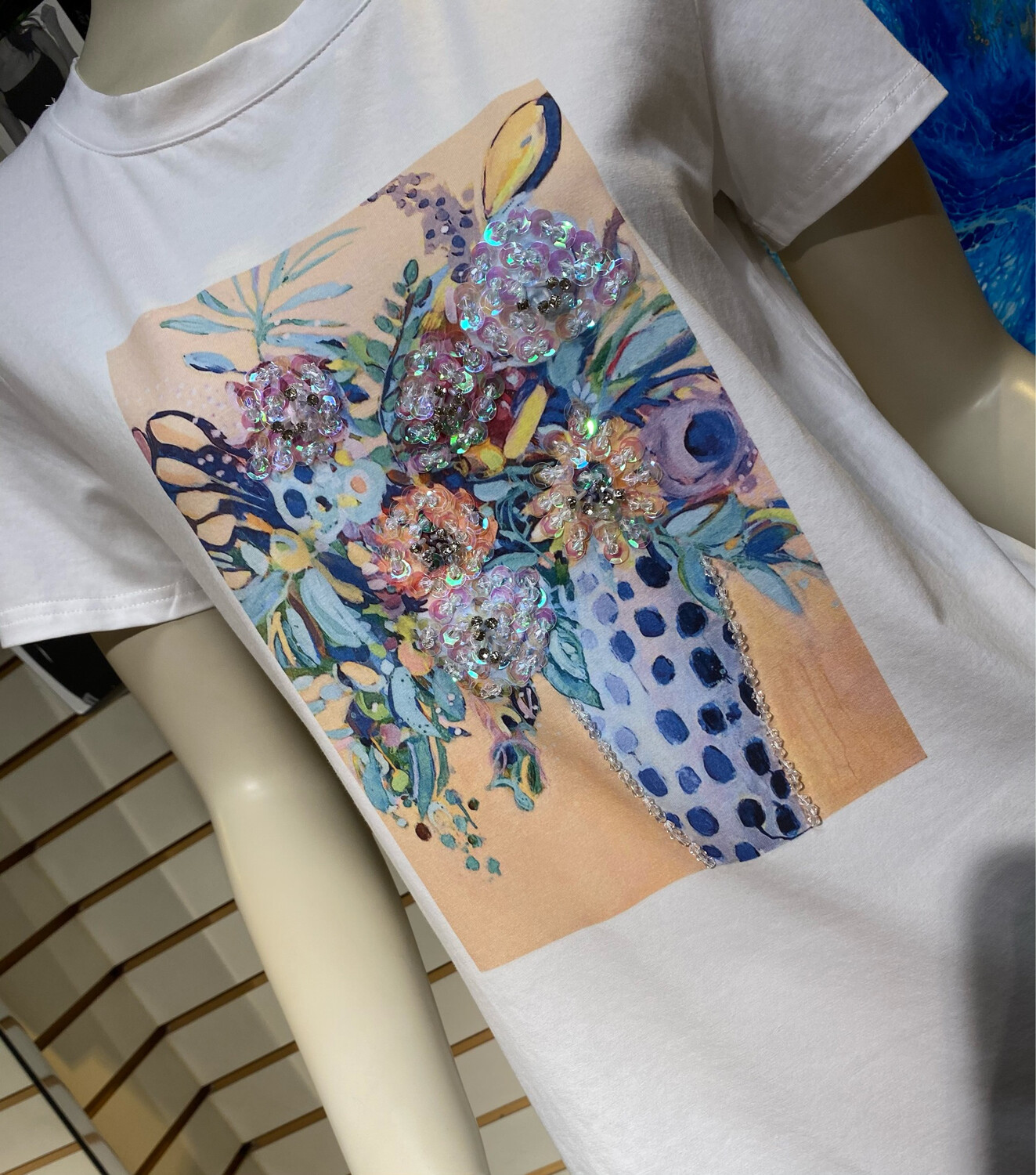 Coco Bouquet Tee XS