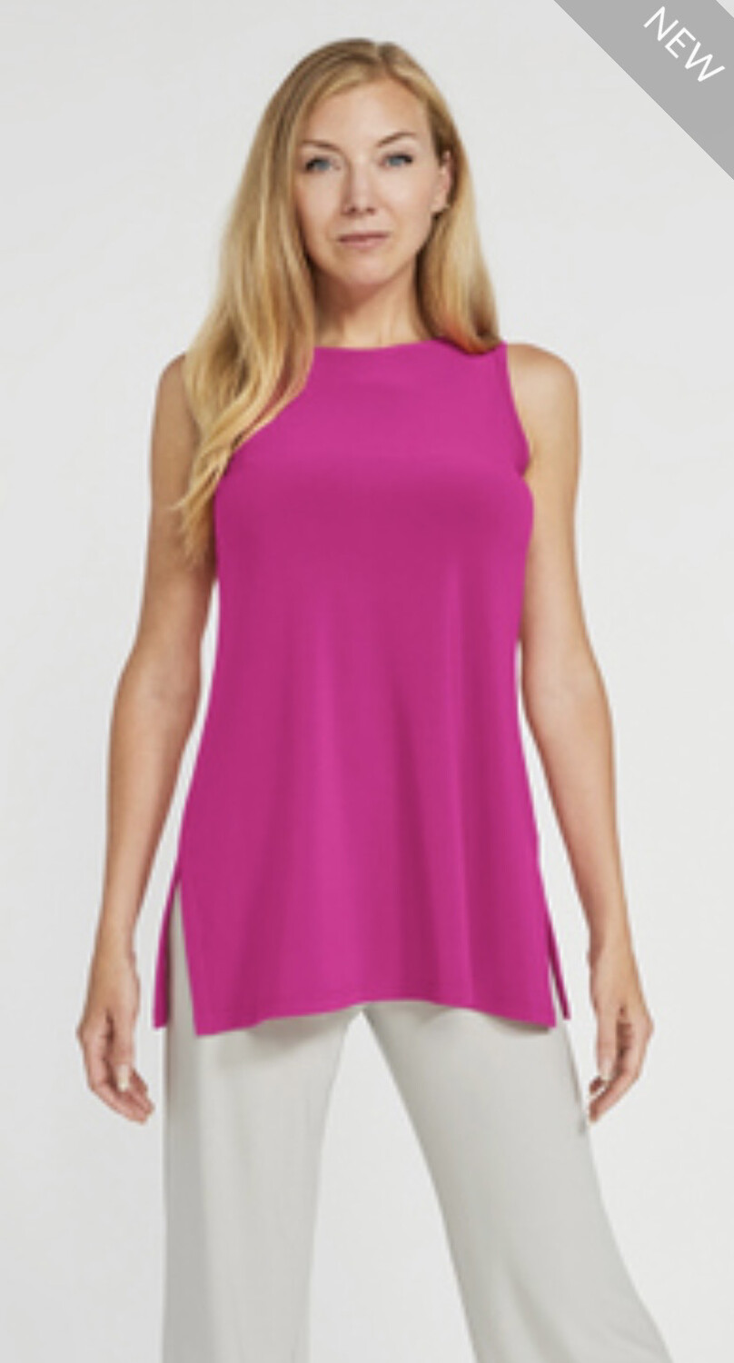 Sympli Slvless Nu Ideal Tunic Flamingo 2