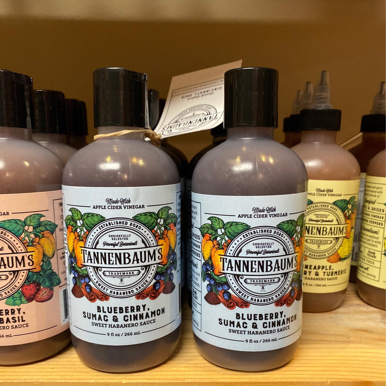 Tannenbaums Blueberry Hot Sauce