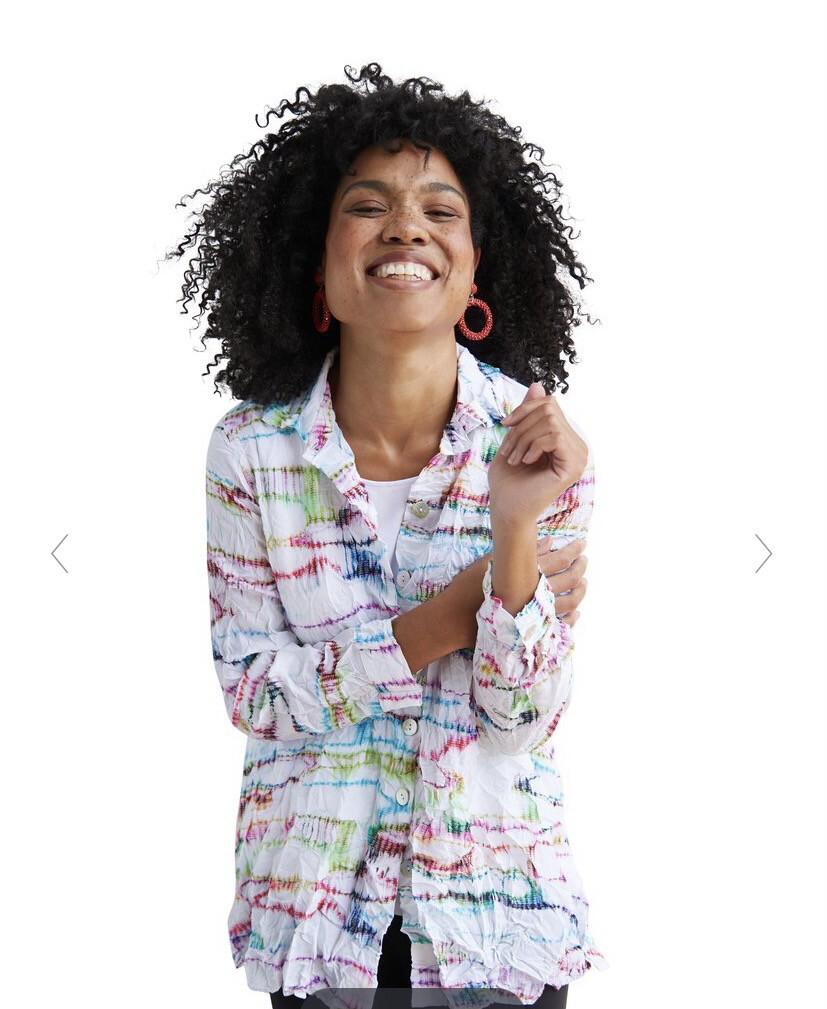 LIV Crimp Savana Shirt Kaleidoscope S