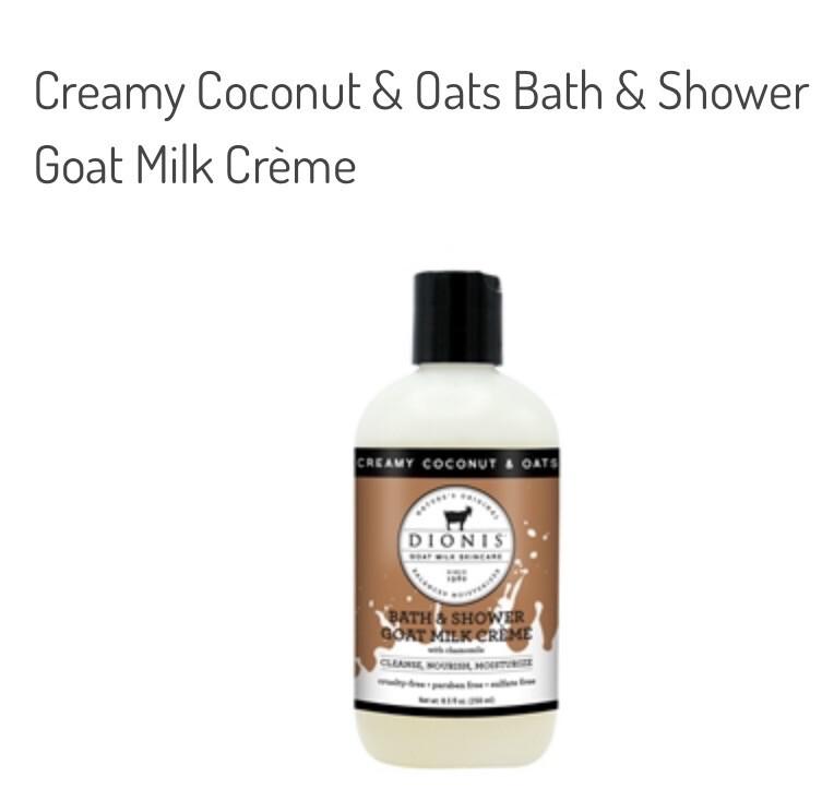 Dionis Creamy Coconut & Oats Goat Milk Bath & Shower Cream