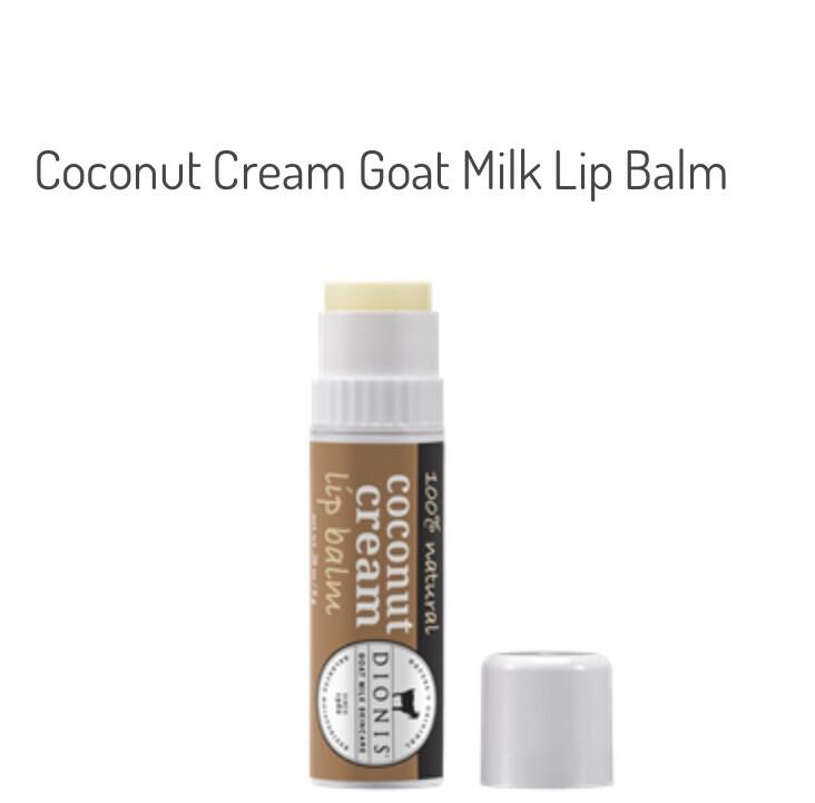 Dionis Goat Milk Coconut Cream Lip Balm