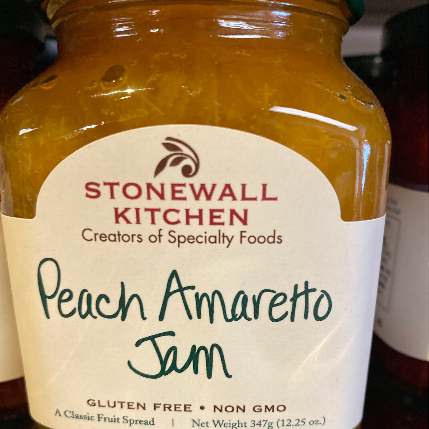 Stonewall Peach Amaretto Jam