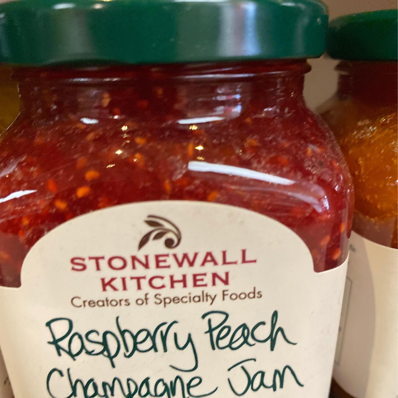 Stonewall Raspberry Peach Champagne Jam