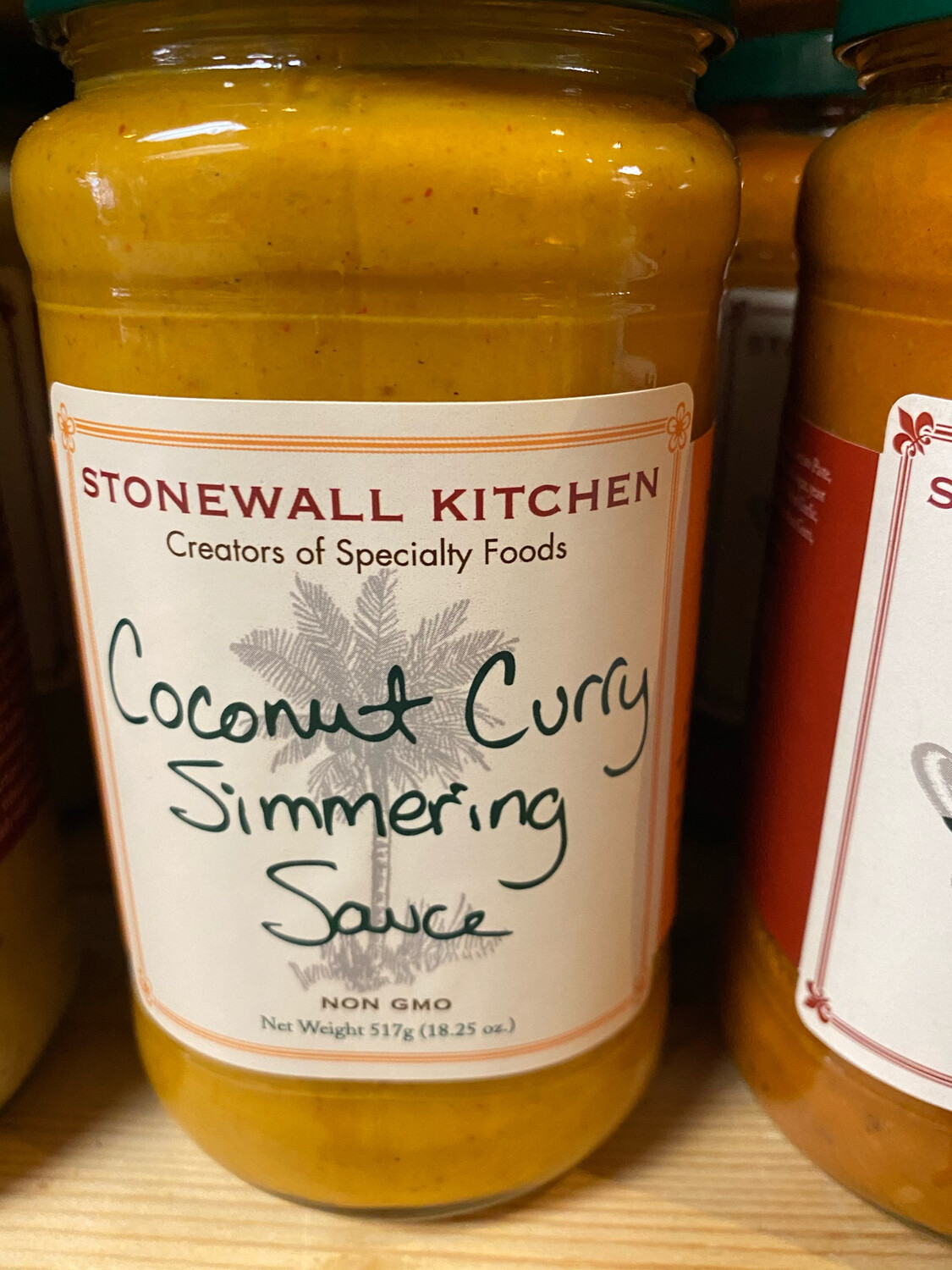 Stonewall Coconut Curry Simmering Sauce