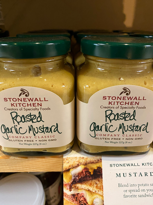 Stonewall Roasted Garlic Mustard