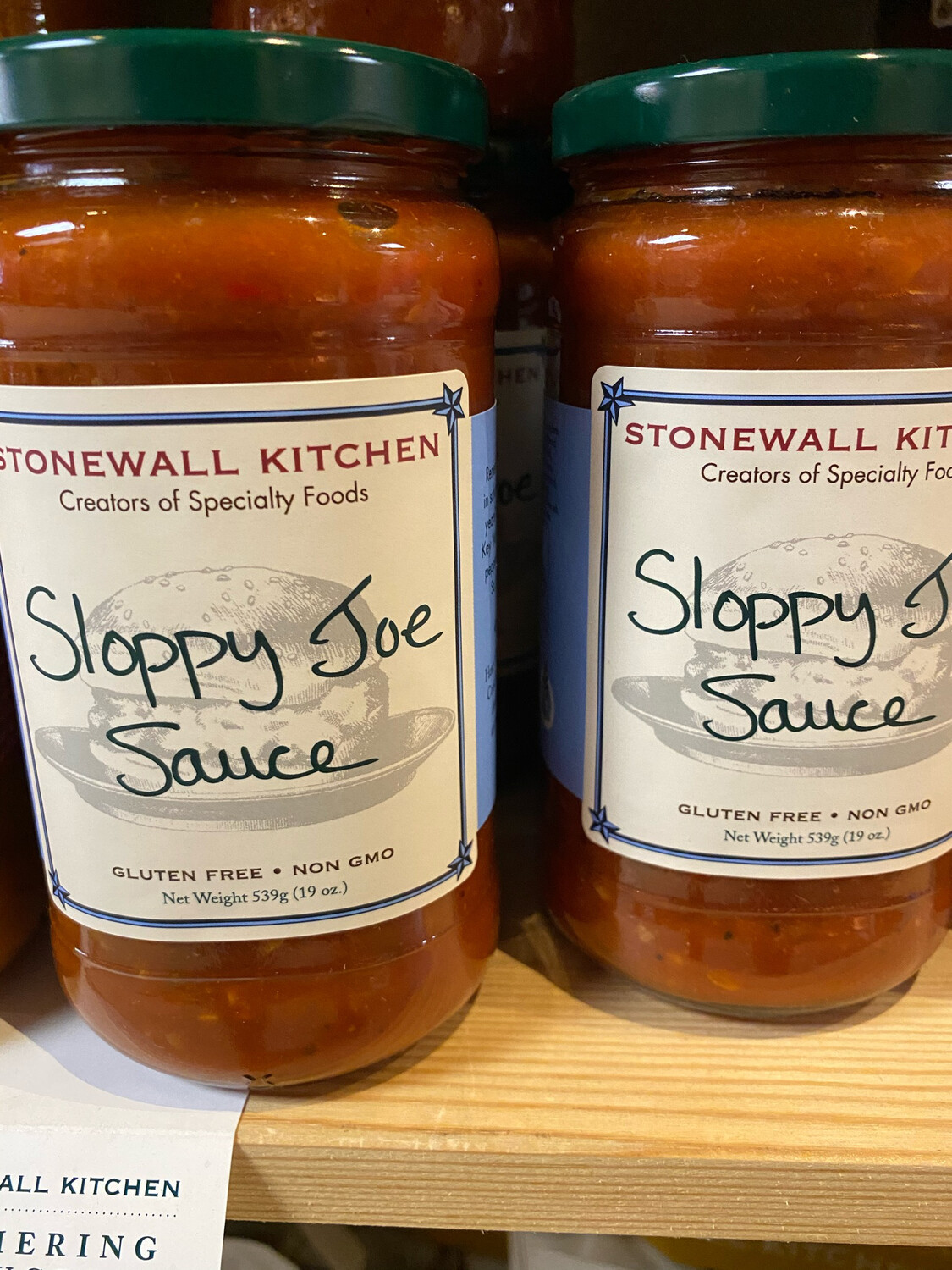 Stonewall Sloppy Joe Simmering Sauce