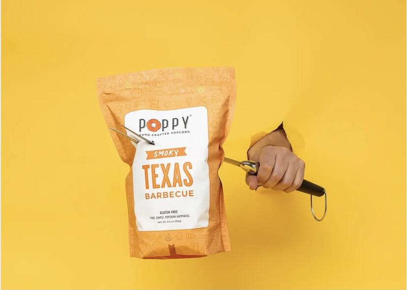 Poppy Texas BBQ Popcorn