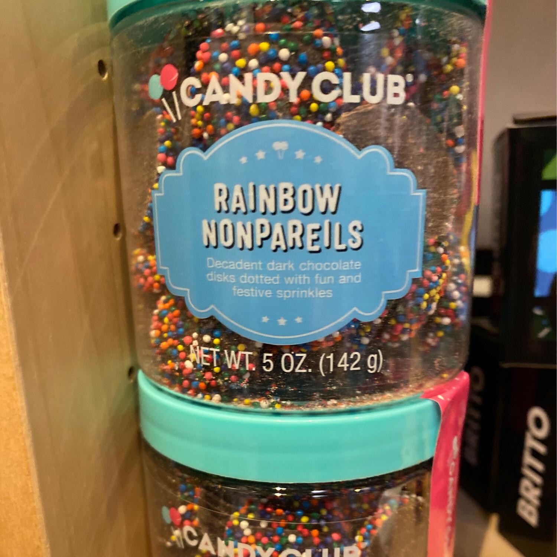 Candy Club Rainbow Nonpareils