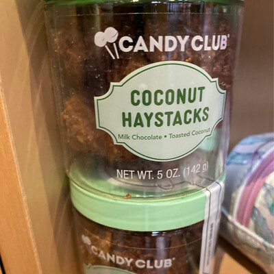 Candy Club Coconut Haystacks