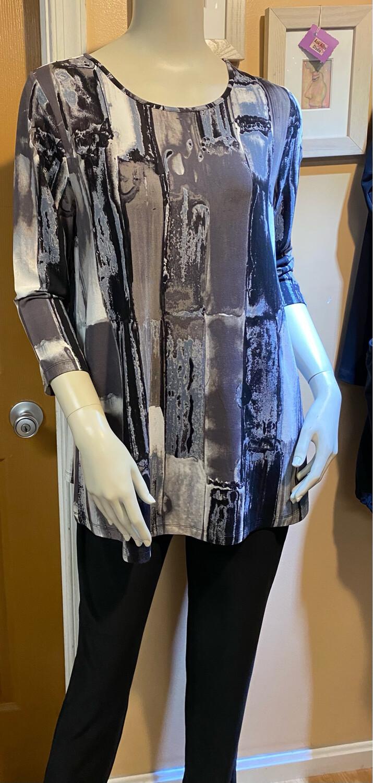 LIV Arths 3/4 Sleeve Tunic Neutral M