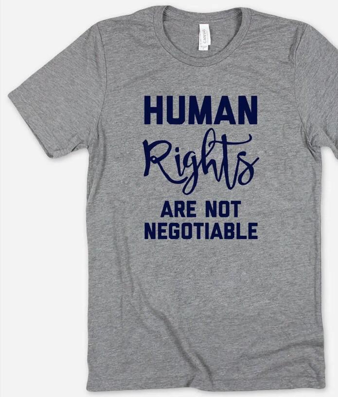 Human Rights Tee XL