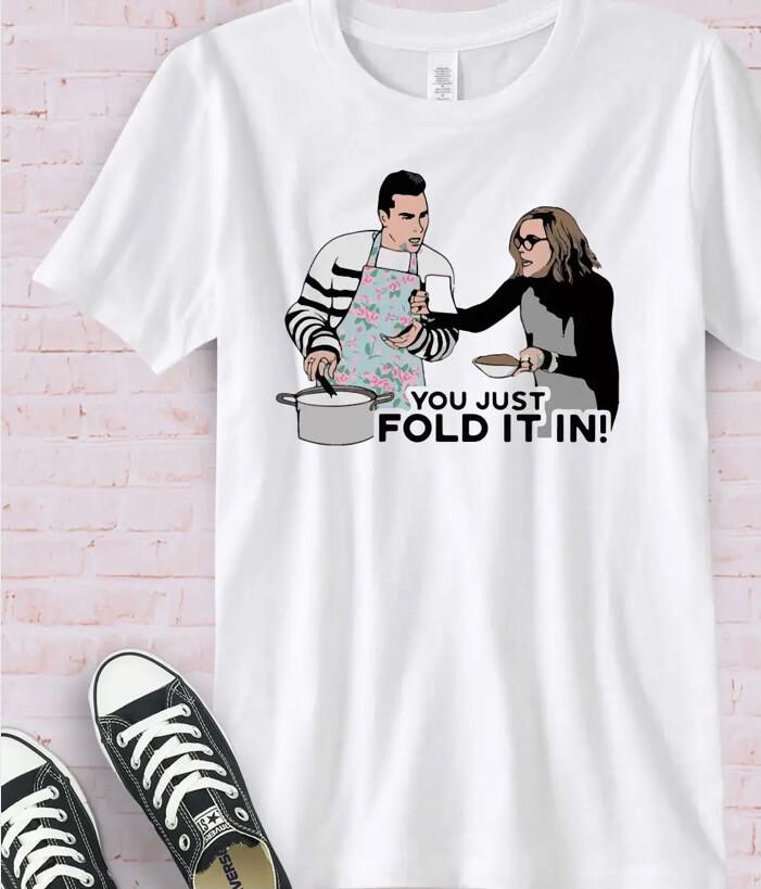 Fold It In Tee L