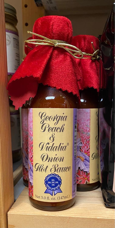 Georgia Peach And Vidalia Onion Hot Sauce