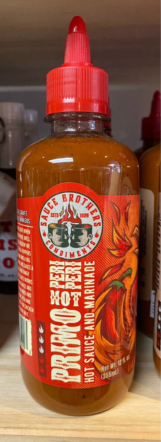 Sauce Brothers Primo Hot Sauce And Marinade