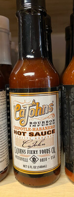 CaJohns Bourbon Infused Hot Suace