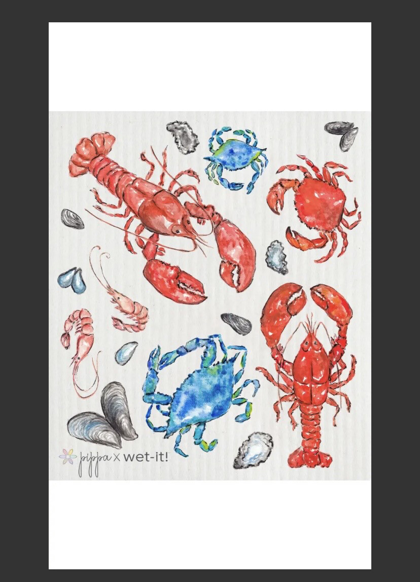 Wet It Lobster And Crab