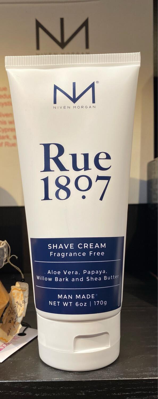 Niven Morgan Rue 1807 Shaving Cream