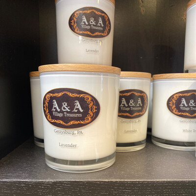 A&A Gettysburg, PA Signature Candles Lavender