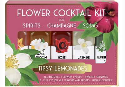 Floral Cocktail Kit Tipsy Lemonades