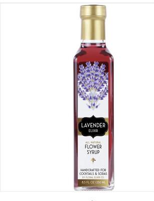 Floral Elixir Lavender Flower Syrup