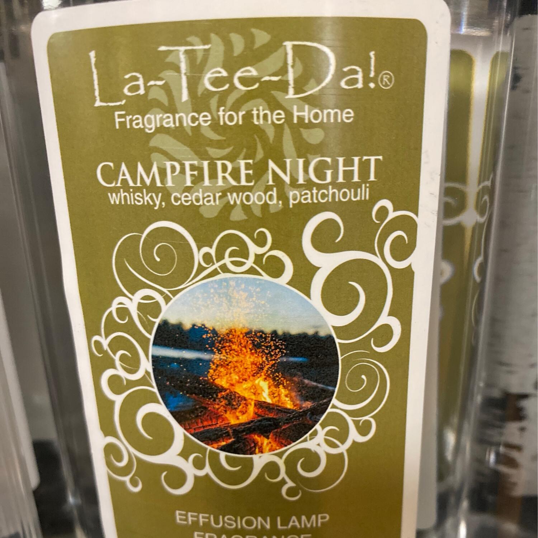 La Tee Da Campfire Night