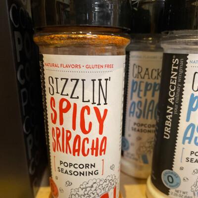 Stonewall Sizzlin Spicy Sriracha Popcorn Seasoning