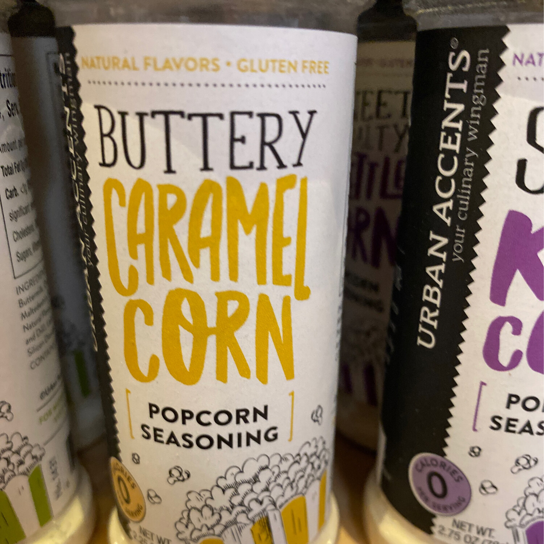 Stonewall Buttery Caramel Corn Popcorn Seasoning
